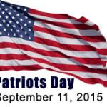 14th Anniversary – September 11th (Patriot's Day) Ceremony
