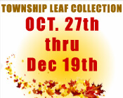 Leaf Collection Begins Oct. 27th