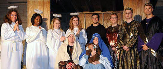 Greccio Live Nativity Neumann University