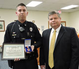 Aston Officer Joshua Micun Recognized for Heroic Actions