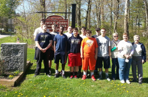 Sun Valley Football and residents at Lewis H. Fisher Memorial Park
