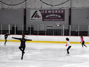 "At the IceWorks. A township commissioner notes Aston's 15 parks, saying, ""You are always within walking distance of at least one."" (CLEM MURRAY / Staff Photographer)"