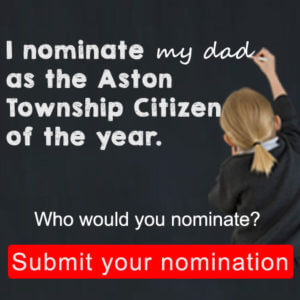 Aston Township Citizen of the Year Nomination 2016