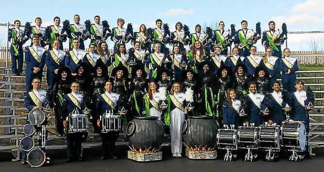 The Sun Valley High School Marching Band. (photo by Loretta Rodgers)