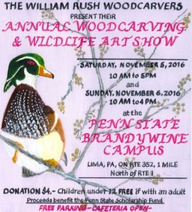 Woodcarving & Wildlife Art Show 2