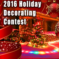 2016 Holiday Business and Residential Decorating Contest