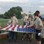 Flag Retirement Ceremony