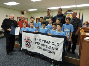 AMLL 9-10 Pennsylvania State Champs