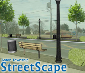 Aston Township StreetScape