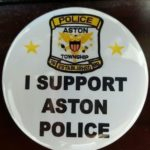 I Support Aston Police Pin