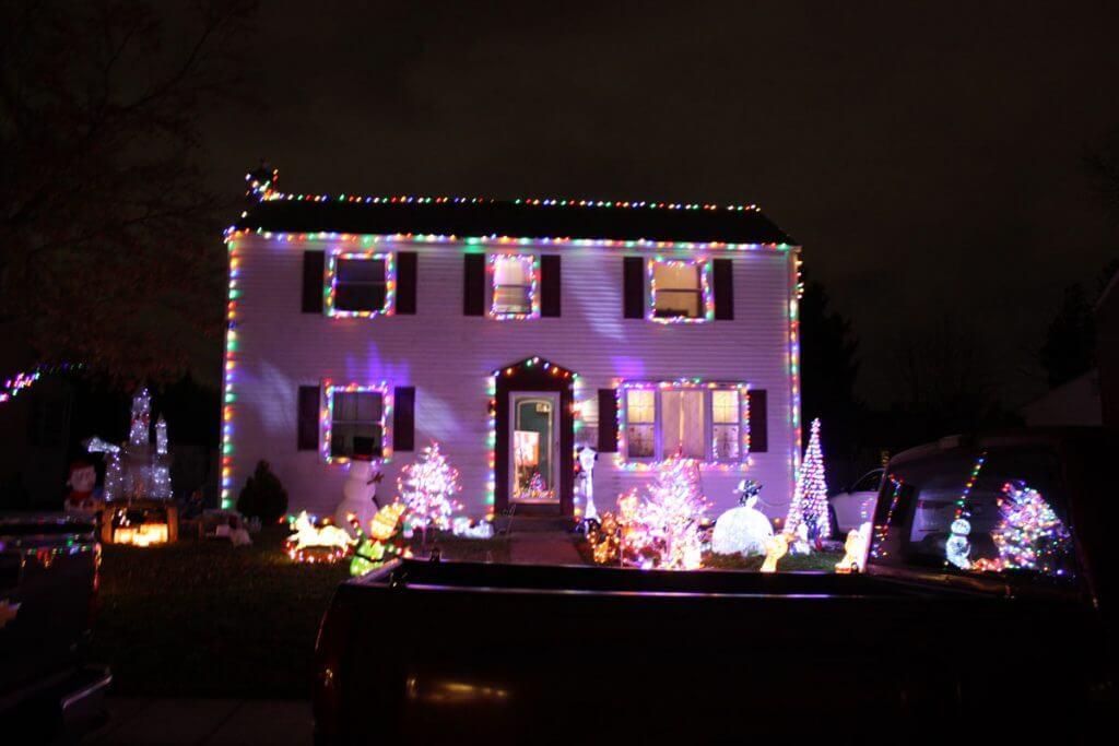 Honorable Mention: The Greenhalgh Family 118 Scheivert Ave.