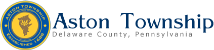Official Aston Township Website Logo