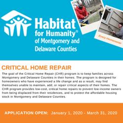Habitat for Humanity of Montgomery & Delaware Counties
