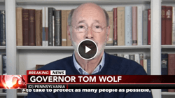 Important update From Governor Wolf On School Closings