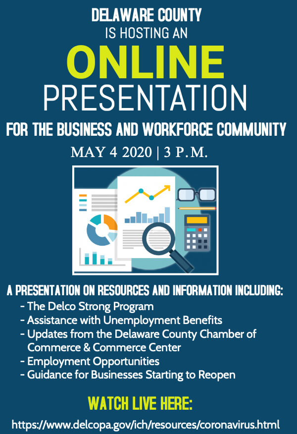 Delco Business and Workforce Online Presentation