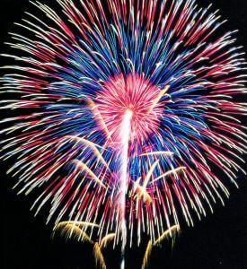 Aston Township Fireworks Display!