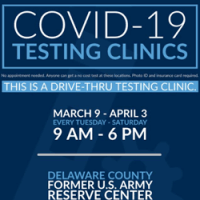 Delaware County Partners with AMI Expeditionary Healthcare to Host  Long-Term COVID-19 Testing Site in Upland